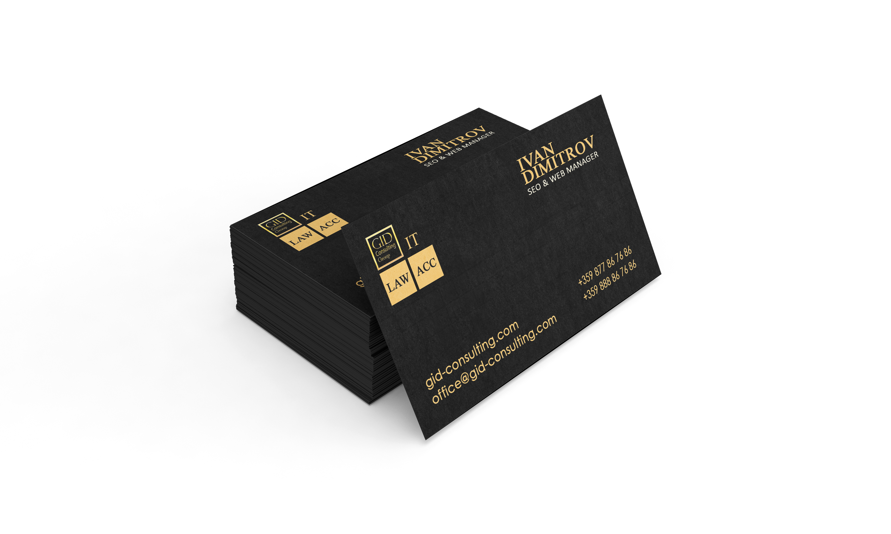 GID IT Business Cards | GID Consulting